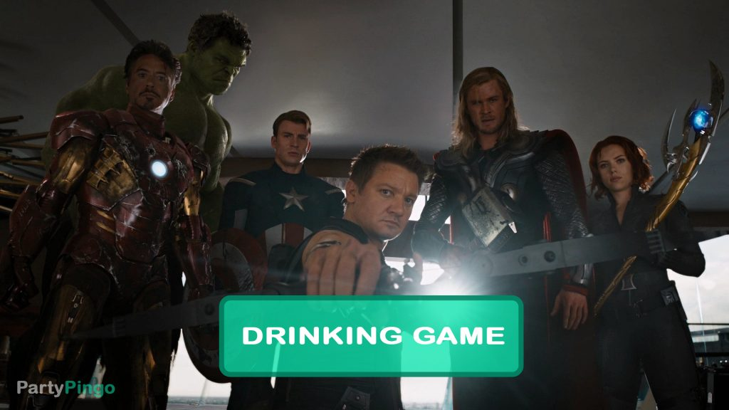 The Avengers Drinking Game