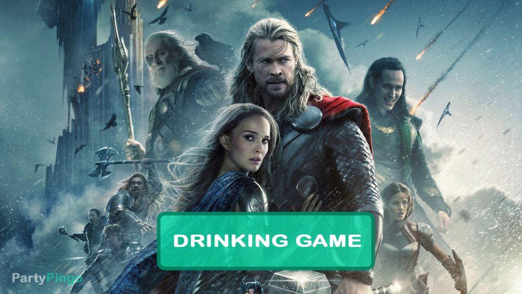 Thor The Dark World Drinking Game