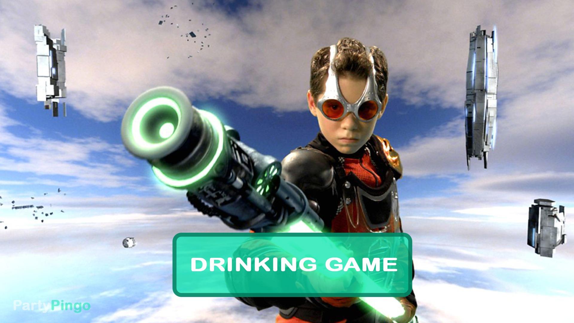 Spy Kids 3 Drinking Game